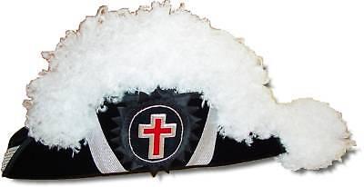 Masonic Knights Templar Chapeau In Your Size