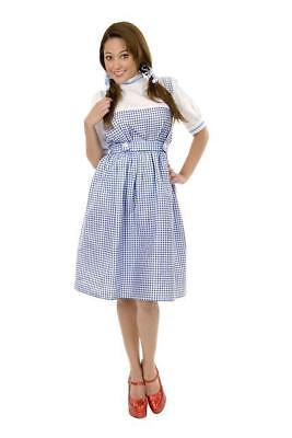 WIZARD OF OZ DOROTHY SIZE PLUS 1X 18-20 ADULT HALLOWEEN COSTUME