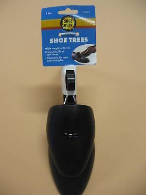 SHOE TREES -  MENS ADJUSTIBLE PLASTIC