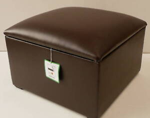 BROWN-FAUX-LEATHER-STORAGE-BOX-POUFFE-FOOTSTOOL