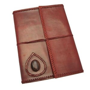 Fair-Trade-Handmade-Stitch-Stoned-Leather-Photo-Album