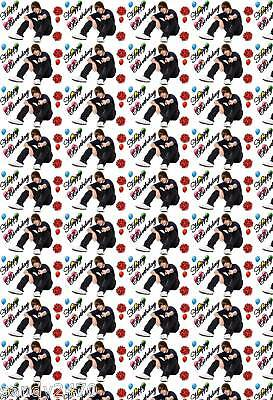 justin bieber wrapping paper