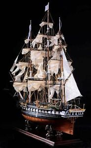 USS-Constitution-44-Wooden-Ship-Model-1-85-Sail-Boat