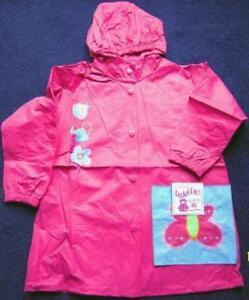NEW-WIPPETTE-KIDS-WATERPROOF-PINK-RAINCOAT-4-6-YEARS