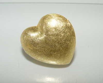 Silber-Zwischenteil als Herz ( 925vg ) 35 x 35 mm (H1a)
