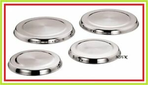 4 pc stainless steel hob covers set gas cooker hob lids. Black Bedroom Furniture Sets. Home Design Ideas