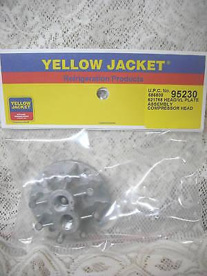 Yellow Jacket Thomas Oil Less Recovery Liquid Head Valve Plate 520ck60 520ck75