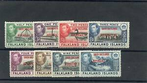 FALKLAND IS DEPENDENCY Sc 5L1-8 (SG D1-8)**VF NH $90