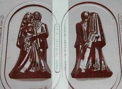 Bride & Groom 3d Golf Bag Clubs Chocolate Candy Mold Molds Wedding Favors Favor