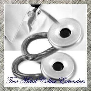 12-SHIRT-NECK-TIE-COLLAR-EXTENDERS-2-Metal-10-Plastic
