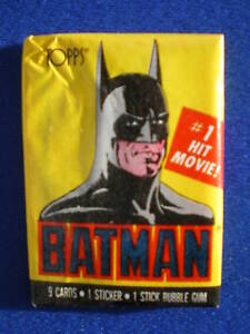 Topps-Batman-Sealed-Unopened-Wax-Packet-1989