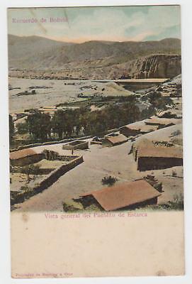 AK / Bolivien..Vista general del Pueblito de Estarca
