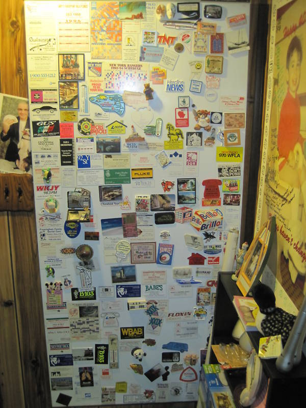 One of a Kind collection of 1000's of Fridge Magnets!