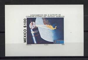 Mexico-1985-SG-MS1780-Satellite-MNH-M-S