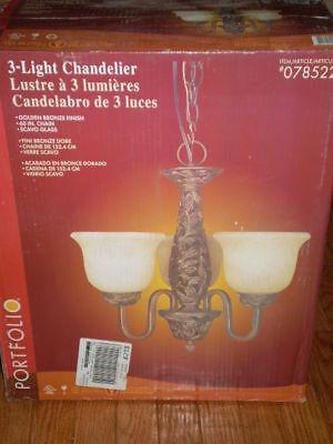Portfolio 3-light Chandelier Brand