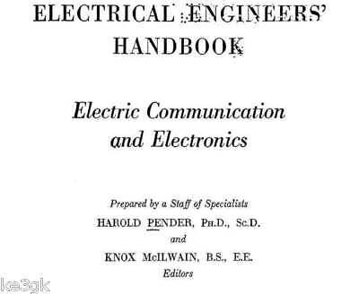 Electrical Engineer's Handbook Cdrom Pdf