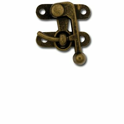 Small Antique Brass Swing Bag Clasp 1306-01 by Tandy Leather