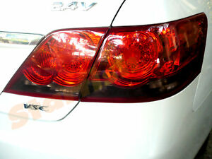 Pre Cut Smoked Tail Light Film Tint For 06 09 Toyota