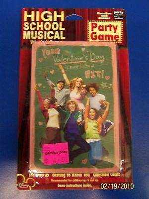 High School Musical Valentine's Day Q&A Party Game (Halloween High School Games)