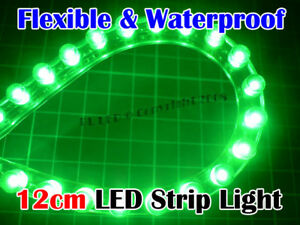 Super Bright 12cm Green LED Strip Stripe Car Neon Light #0: CBDc vwEGk $ KGrHqUOKjcEzbG0 ZBwBNGEPoYyi 35 JPG
