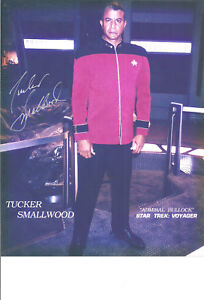 T Smallwood Star Trek Voyager Autograph 8x10 Still