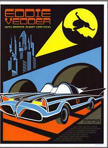 PEARL-JAM-Eddie-Vedder-Batmobile-Concert-mini-Poster