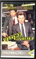 Ultime Notizie (1986) Vhs Panarecord M. Sheen -  - ebay.it