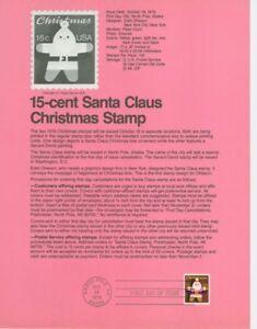 1800-15c-Santa-Claus-USPS-7920-Souvenir-Page