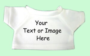 personalized stuffed animal or teddy bear t shirt