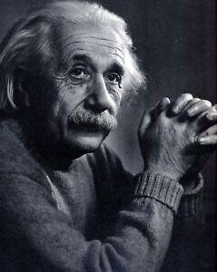 Albert Einstein, 8x10 Black and White Photo