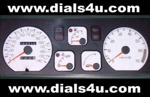 RENAULT-CLIO-Mk1-1990-1998-140mph-WHITE-DIAL-KIT