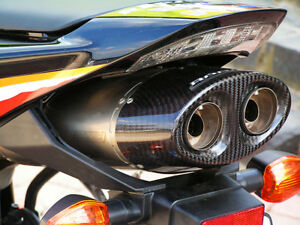 Honda CBR 1000 RR SC57 Bodis Oval Q1 Auspuff Exhaust  mit ABE