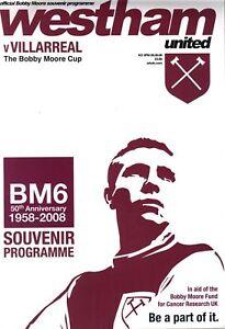 2008-BOBBY-MOORE-CUP-WEST-HAM-v-VILLARREAL