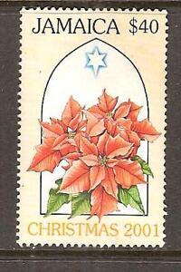 JAMAICA-951-MNH-POINSETTIAS-CHRISTMAS-2001