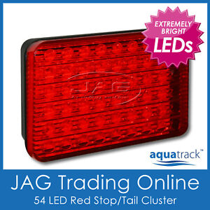 10-30V 54-LED RED STOP/TAIL TRAILER/TRUCK/CARAVAN LIGHT