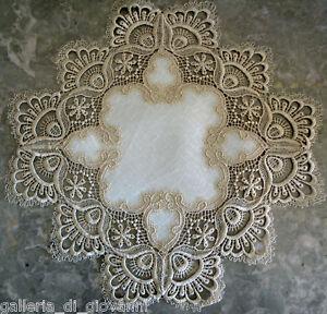 Delicate-Gold-trim-Lace-Doily-Estate-Design