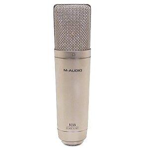m audio nova condenser cable professional microphone for sale online ebay. Black Bedroom Furniture Sets. Home Design Ideas