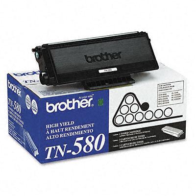 TN580 Black Toner Cartridge brand new never opened FREE SHIPPING!!!!