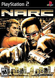 Narc-Sony-PlayStation-2-2005-DISC-ONLY-FAST-SHIPPING-MIDWAY-PS2