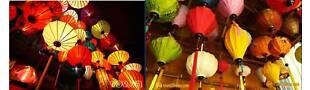 Vietnam_hancrafted Silk Lantern