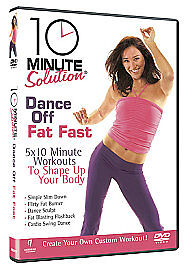 10 Minute Solution  Dance Off Fat Fast DVD 2008 Good DVD - Rossendale, United Kingdom - 10 Minute Solution  Dance Off Fat Fast DVD 2008 Good DVD - Rossendale, United Kingdom