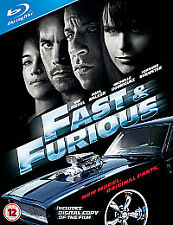 Fast & Furious Action & Adventure Blu-rays
