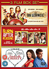 Burn After Reading / The Big Lebowski / Intolerable Cruelty (DVD, 2009, 3-Disc Set, Box Set)