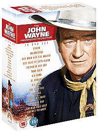 The John Wayne Paramount Collection DVD 2009 14Disc Set Box Set - <span itemprop=availableAtOrFrom>Leicester, United Kingdom</span> - The John Wayne Paramount Collection DVD 2009 14Disc Set Box Set - Leicester, United Kingdom