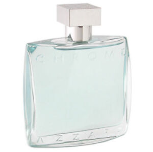 Azzaro chrome cologne for men eau de toilette spray 3 4oz for Chrome azzaro perfume