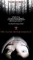 The Blair Witch Project VHS 1999 BRAND NEW SEALED - Croydon, Pennsylvania, United States - The Blair Witch Project VHS 1999 BRAND NEW SEALED - Croydon, Pennsylvania, United States
