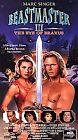 Beastmaster 3: The Eye of Braxus (VHS, 1996)