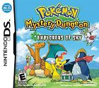 Pokemon Mystery Dungeon: Explorers of Sky  (Nintendo DS, 2009) (2009)