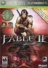 Fable II (Platinum Hits Edition)  (Xbox 360, 2010) (2010)