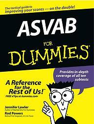 Asvab-for-Dummies-by-Jennifer-L-Lawler-and-Rod-Powers-2003-Paperback-Jennifer-L-Lawler-Rod-Powers